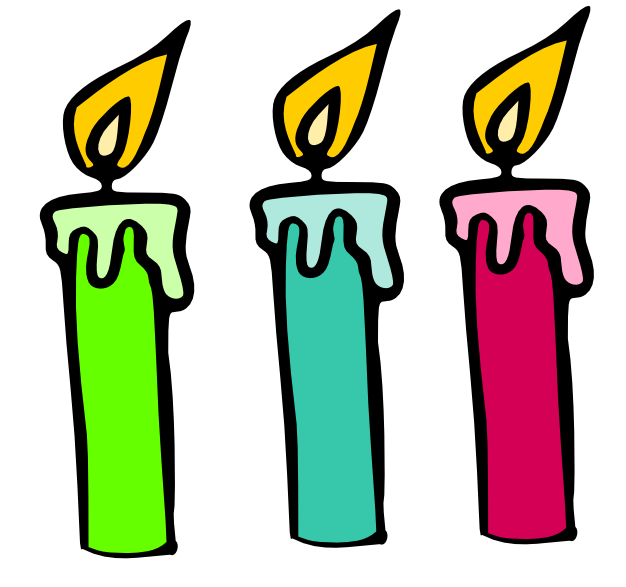 birthday candles svg