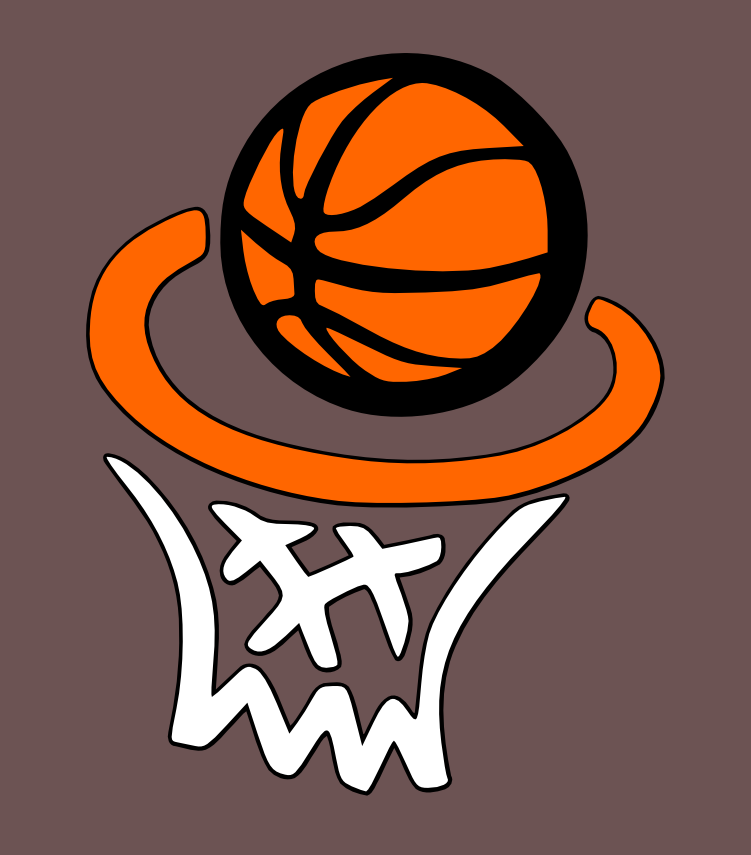 basketball, hoop and net svg
