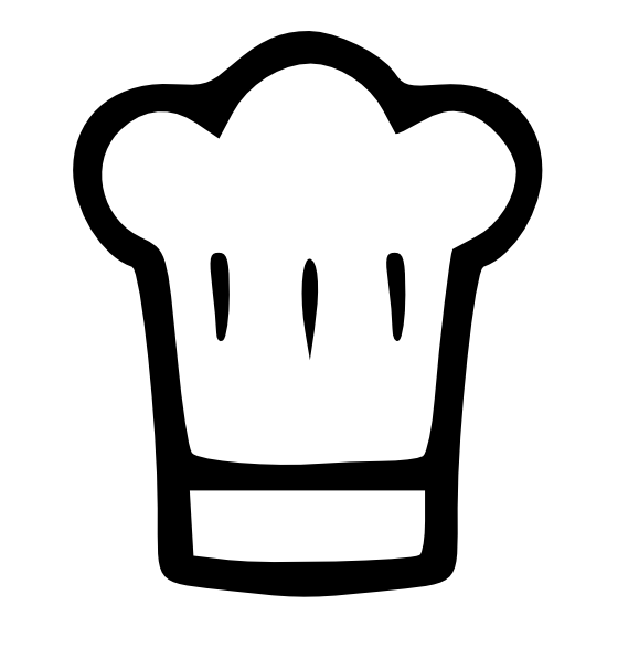 chef's hat or toque svg