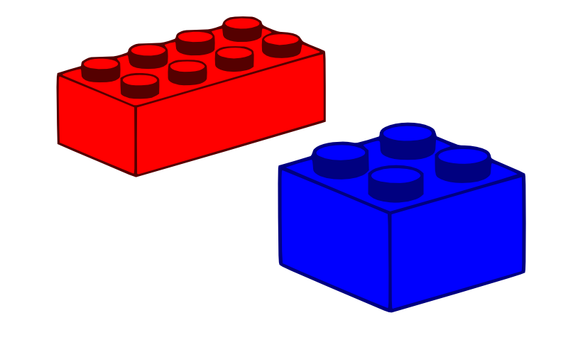 lego brick side view clipart - photo #33